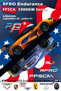 Affiche RFRO 1000km